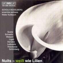 "Schola Heidelberg - Nuits - ""Weiß wie Lilien"", CD"
