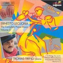 Ernesto Lecuona (1895-1963): Sämtliche Klavierwerke Vol.5, CD