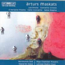 Arturs Maskats (geb. 1957): Cellokonzert, CD