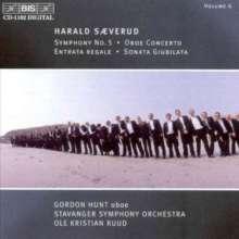 """Harald Saeverud (1897-1992): Symphonie Nr.5 """"Quasi una fantasia"""", CD"""