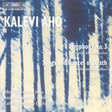 Kalevi Aho (geb. 1949): Symphonie Nr.3, CD
