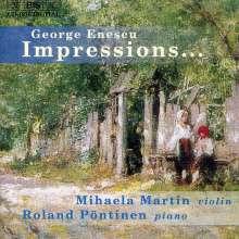 George Enescu (1881-1955): Sonaten für Violine & Klavier Nr.2 & 3, CD
