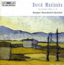David Maslanka (geb. 1943): Bläserquintette Nr.1-3, CD