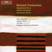 Richard Yardumian (1917-1985): Symphonie Nr.2, CD