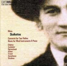 Nikos Skalkottas (1904-1949): Konzert für 2 Violinen & 2 Klaviere, CD