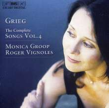 Edvard Grieg (1843-1907): Sämtliche Lieder Vol.4, CD
