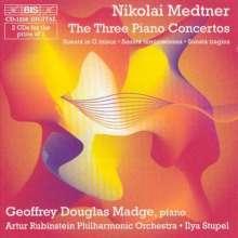 Nikolai Medtner (1880-1951): Klavierkonzerte Nr.1-3, 2 CDs