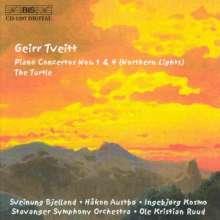 Geirr Tveitt (1908-1981): Klavierkonzerte Nr.1 & 4, CD