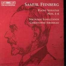 Samuel Feinberg (1890-1962): Klaviersonaten Nr.1-6, CD
