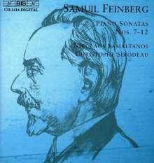 Samuel Feinberg (1890-1962): Klaviersonaten Nr.7-12, CD