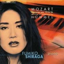 Wolfgang Amadeus Mozart (1756-1791): Klavierkonzerte Nr.22 & 26 für Klavier,Flöte,Violine,Cello, CD