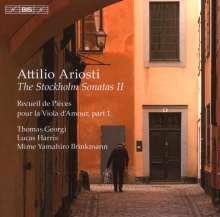 Attilio Ariosti (1666-1729): Stockholm-Sonaten Vol.2, CD