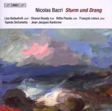 "Nicolas Bacri (geb. 1961): Orchesterwerke ""Sturm und Drang"", CD"