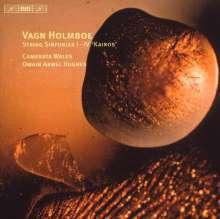 Vagn Holmboe (1909-1996): Kairos (Streichersinfonien Nr.1-4), CD