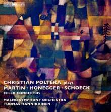 Christian Poltera plays Martin/Honegger/Schoeck, CD