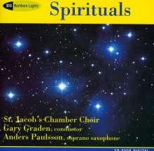 St.Jacob's Choir Stockholm - Spirituals, CD