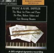 Albert Franz Doppler (1821-1883): Werke für Flöte & Klavier, 2 CDs