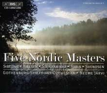 Five Nordic Masters, 5 CDs