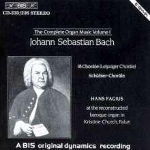 Johann Sebastian Bach (1685-1750): Sämtliche Orgelwerke Vol.1, 2 CDs