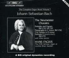Johann Sebastian Bach (1685-1750): Sämtliche Orgelwerke Vol.5, 2 CDs