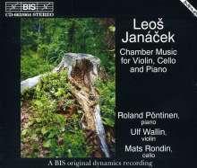 Leos Janacek (1854-1928): Werke für Cello, Violine & Klavier, 2 CDs