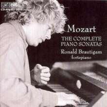 Wolfgang Amadeus Mozart (1756-1791): Klaviersonaten Nr.1-18, 6 CDs