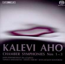Kalevi Aho (geb. 1949): Kammersymphonien Nr.1-3, SACD