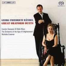 Georg Friedrich Händel (1685-1759): Duette aus Oratorien, SACD