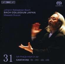 Johann Sebastian Bach (1685-1750): Kantaten Vol.31 (BIS-Edition), SACD
