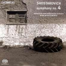 Dimitri Schostakowitsch (1906-1975): Symphonie Nr.4, SACD