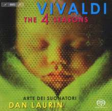 "Antonio Vivaldi (1678-1741): Concerti op.8 Nr.1-4 ""4 Jahreszeiten"", SACD"