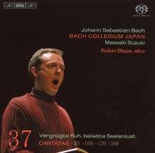 Johann Sebastian Bach (1685-1750): Kantaten Vol.37 (BIS-Edition), SACD