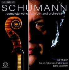 Robert Schumann (1810-1856): Werke für Violine & Orchester, SACD
