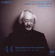 Johann Sebastian Bach (1685-1750): Kantaten Vol.44 (BIS-Edition), SACD