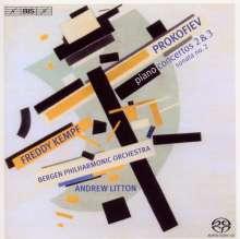 Serge Prokofieff (1891-1953): Klavierkonzerte Nr.2 & 3, SACD