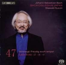 Johann Sebastian Bach (1685-1750): Kantaten Vol.47 (BIS-Edition), SACD