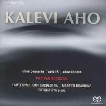 Kalevi Aho (geb. 1949): Oboenkonzert, SACD