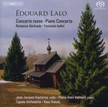 Edouard Lalo (1823-1892): Concerto Russe für Violine & Orchester op.29, SACD