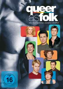 Queer as Folk Season 2, 6 DVDs