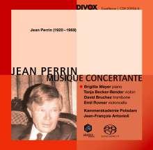 Jean Perrin (1920-1989): Klavierkonzert op.41, SACD