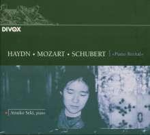 Atsuko Seki - Piano Recital, CD
