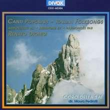 Ranato Dionisi (1910-2000): Canti Populari, CD