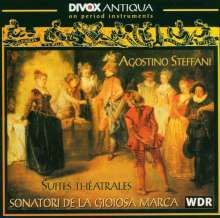 Agostino Steffani (1654-1728): Suites Theatrales, CD