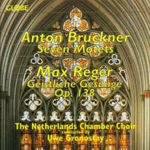 Anton Bruckner (1824-1896): 7 lateinische Motetten, CD