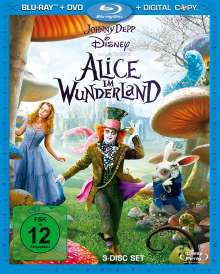 Alice im Wunderland (2009) (Blu-ray, DVD, Digital Copy), Blu-ray Disc