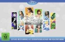 Disneys zeitlose Meisterwerke (Animation & Live Action) (Limited Edition) (Blu-ray), 12 Blu-ray Discs