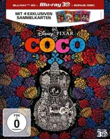 Coco (3D & 2D Blu-ray), 3 Blu-ray Discs