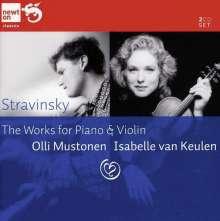 Igor Strawinsky (1882-1971): Die Werke f.Violine & Klavier, 2 CDs