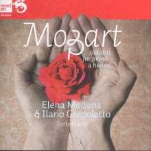 Wolfgang Amadeus Mozart (1756-1791): Klaviersonaten zu vier Händen, CD