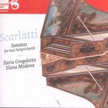 Domenico Scarlatti (1685-1757): Sonaten für 2 Cembali, CD